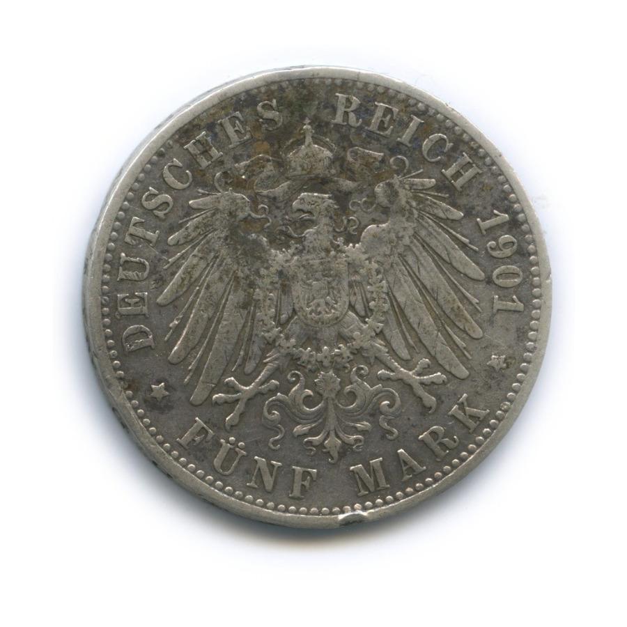 5 марок - Вильгельм II, Пруссия 1901 года