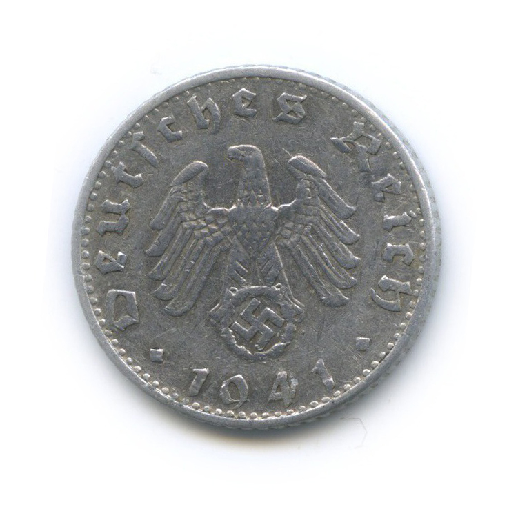 50 рейхспфеннигов 1941 года B (Германия (Третий рейх))