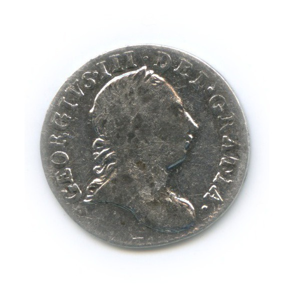 3 пенса - Георг III 1763 года (Великобритания)