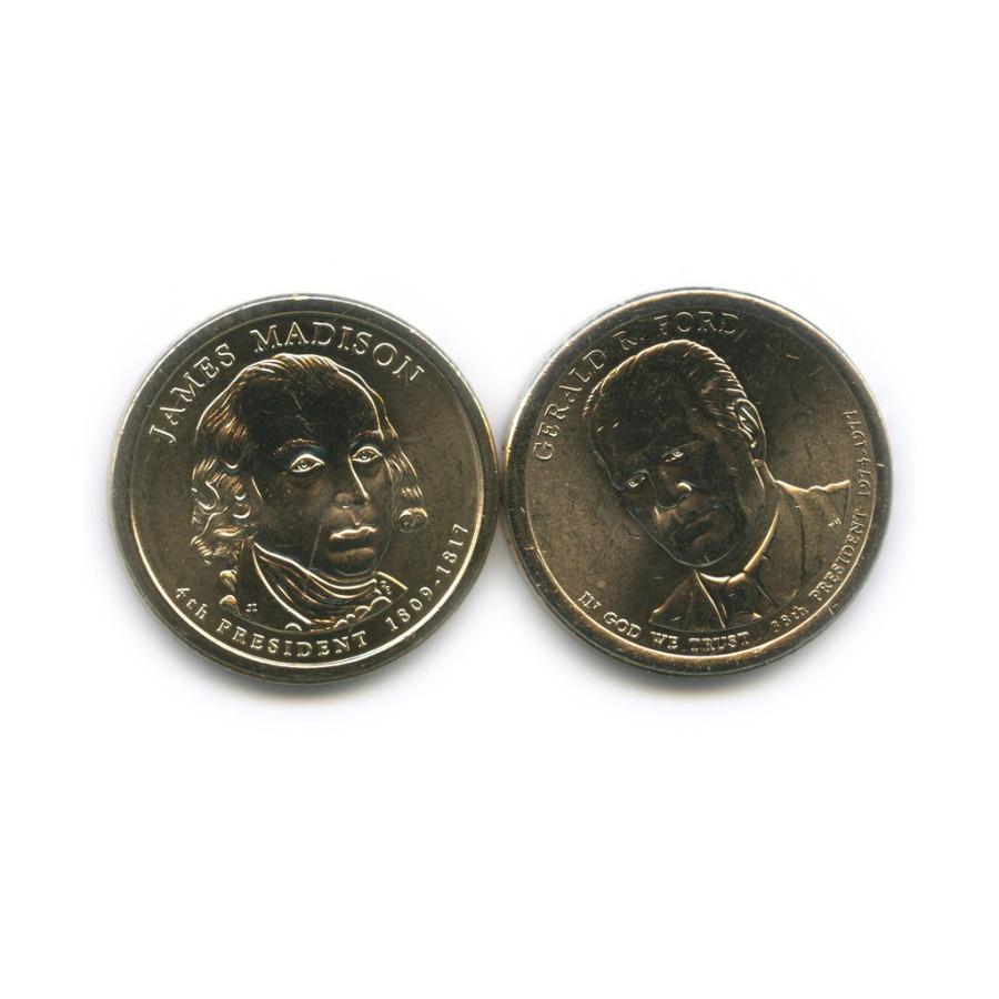 Набор монет 1 доллар - Президенты США 2007, 2016 (США)