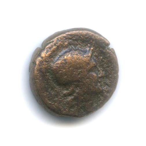 Мизия, Пергам, 159-138 гг. до н. э., Афина/змея