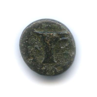 Эолида, Кимы, 350-250 гг. до н. э., орел/чаша