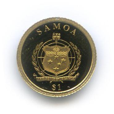 1 тала - Фридрих IБарбаросса, Самоа 2009 года