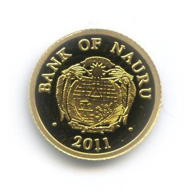 5 долларов - Королева Виктория, Науру 2011 года