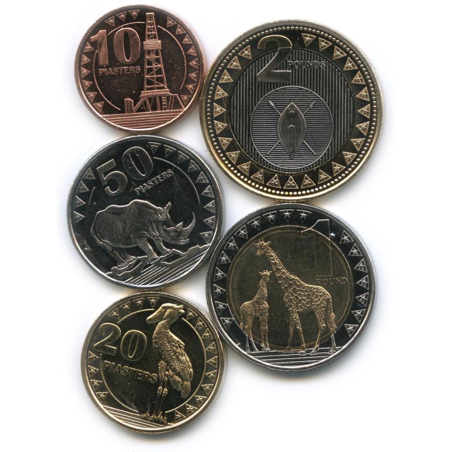 Набор монет - Животные, Южный Судан 2015 года