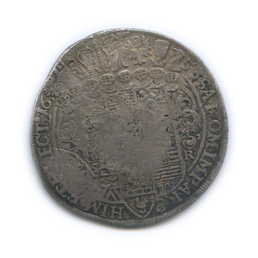 Ефимок (надчеканка 1655 года наталере 1653 года, Иоганн Георг I, Саксония) 1653 года