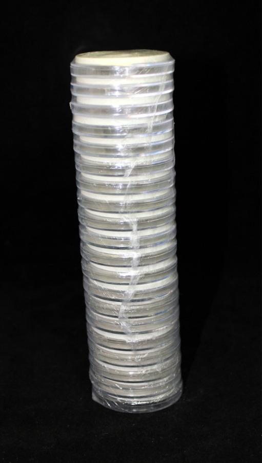 Набор универсальных капсул для монет (диаметр колец: 20, 25, 30, 35, 40 мм, 20 шт.)