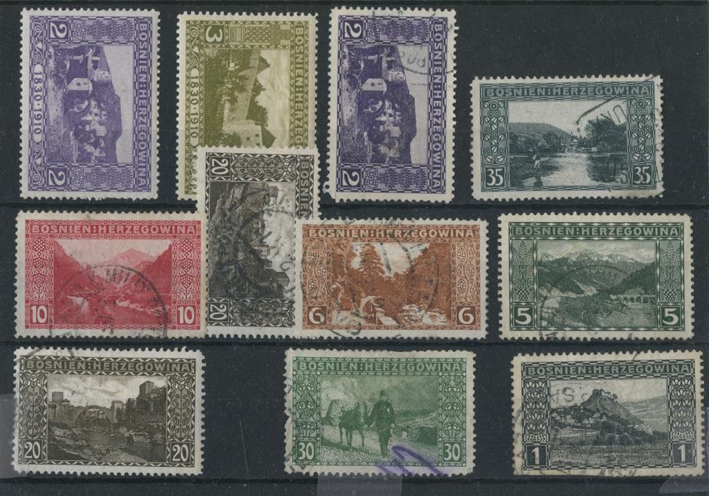 Набор почтовых марок (Босния и Герцеговина)