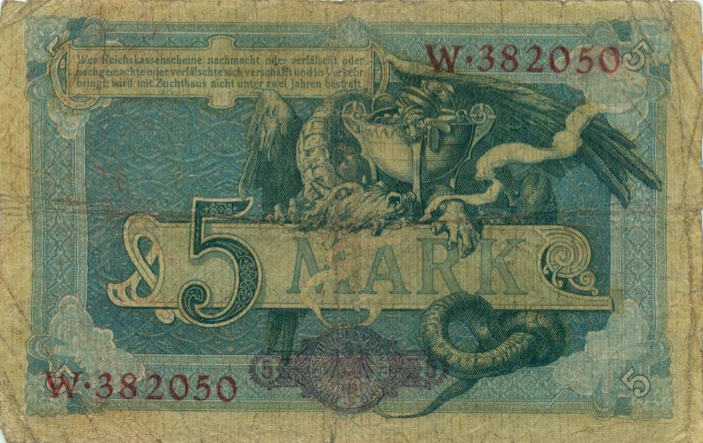 5 марок 1904 года (Германия)