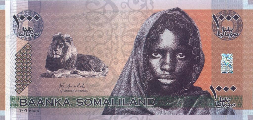 1000 шиллингов (Сомалиленд) 2006 года