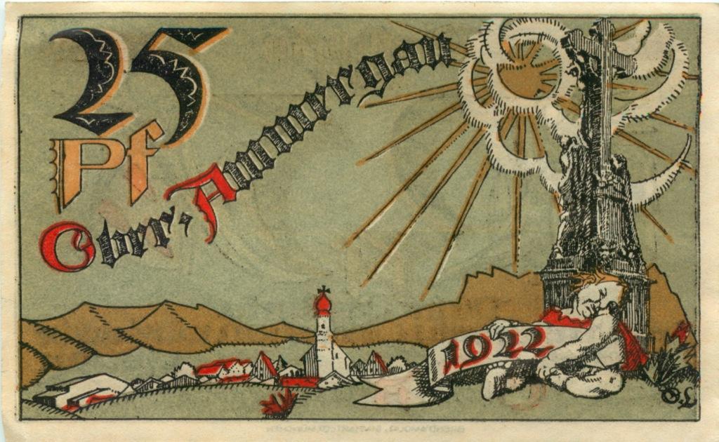 25 пфеннигов (нотгельд) 1921 года (Германия)