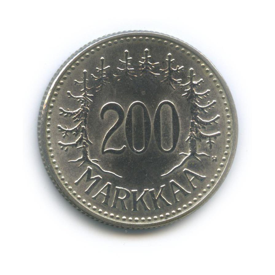 200 марок 1958 года H (Финляндия)