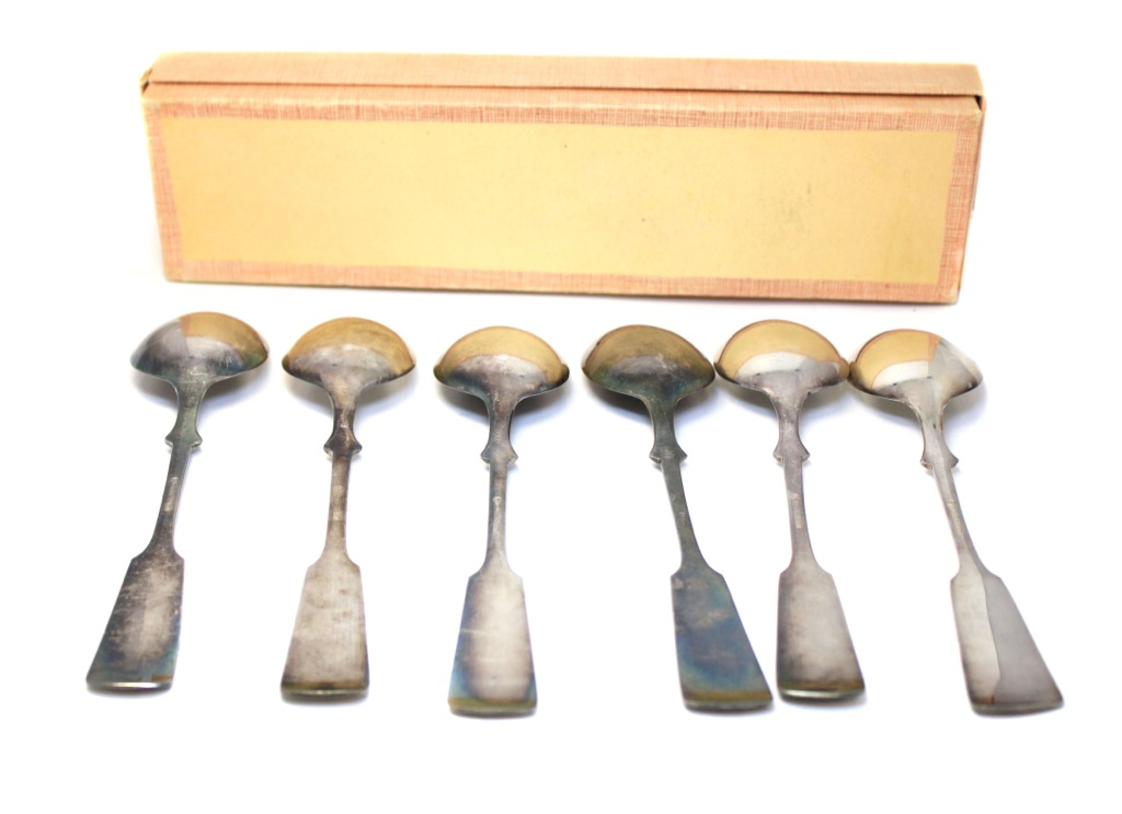 Набор столовых ложек (21 см, посеребрение, вкоробке)