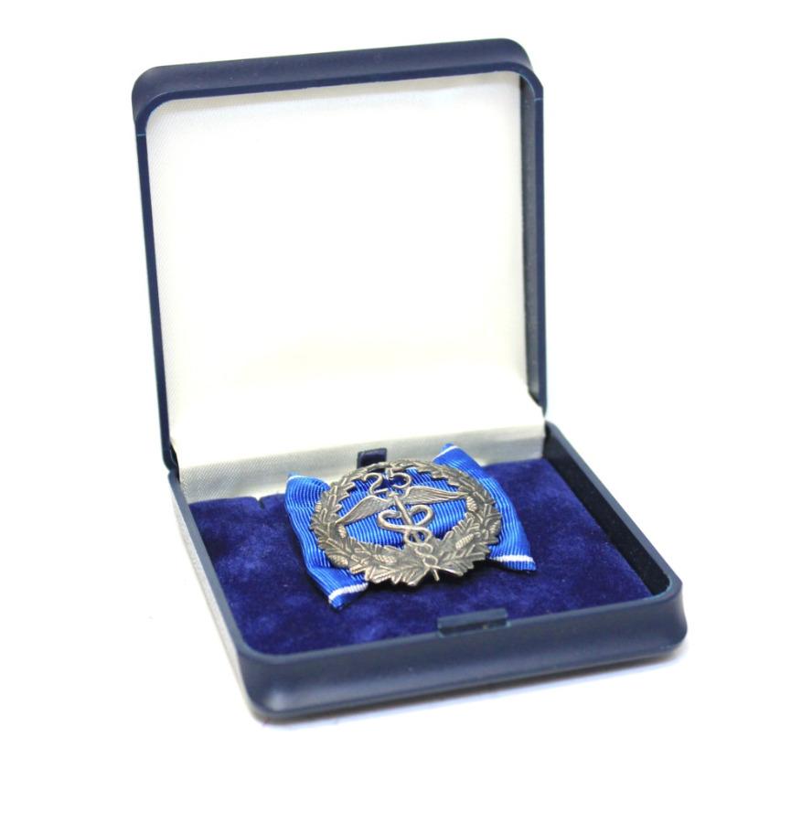 Медаль «За25 лет выслуги» (вфутляре) (Финляндия)