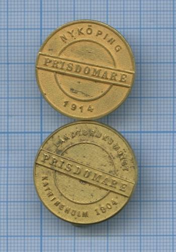 Набор знаков «Prisdomare» (Швеция)