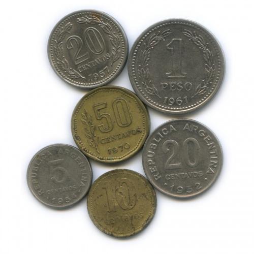 Набор монет (Аргентина)