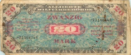 20 марок 1944 года (Германия)