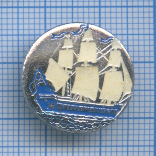 Значок «Корабль» (СССР)