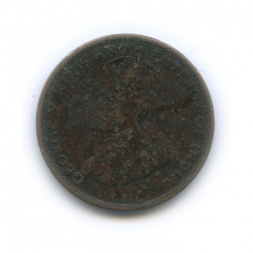 1 цент, Цейлон 1912 года