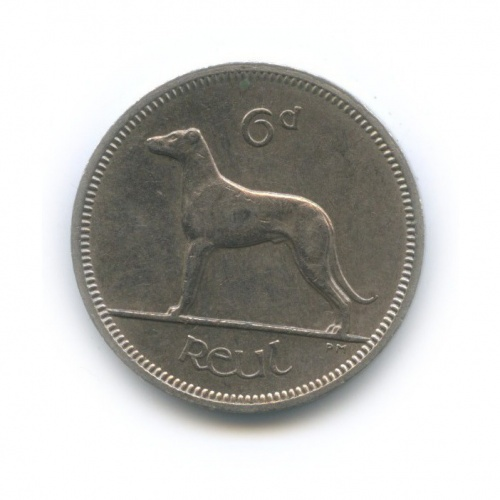 6 пенсов 1962 года (Ирландия)