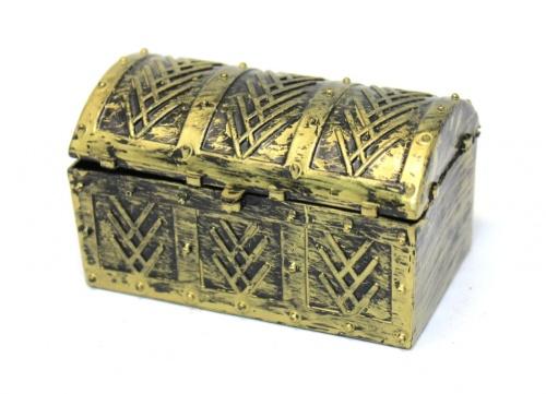 Шкатулка-сундук (8,5×5 см)