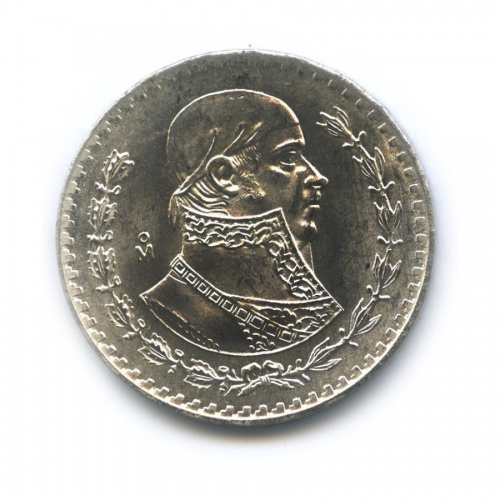 1 песо 1965 года (Мексика)