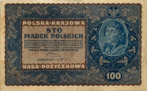 100 марок 1919 года (Польша)
