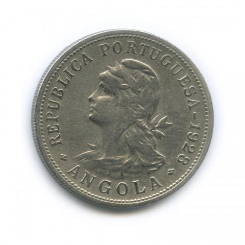 50 сентаво, Ангола 1928 года (Португалия)