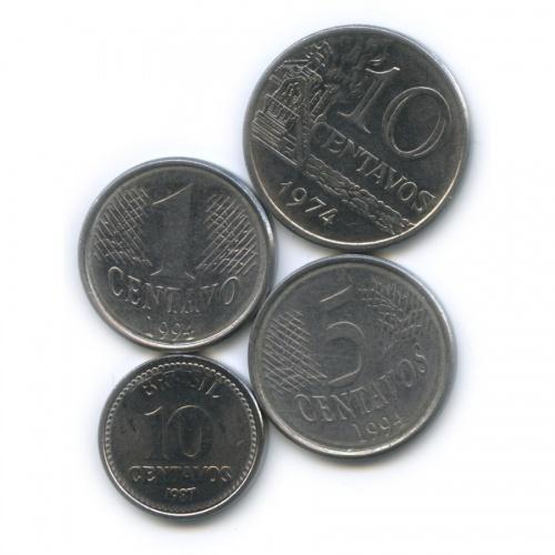 Набор монет (Бразилия)