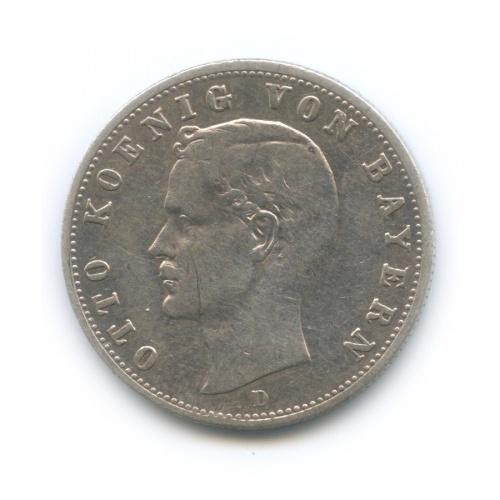 2 марки - Отто I, Бавария 1904 года