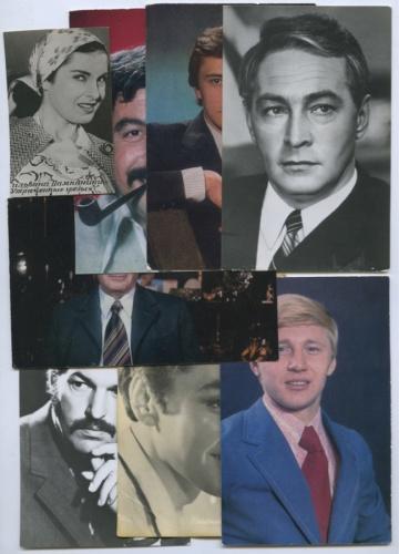 Набор открыток «Актеры кино» (СССР)