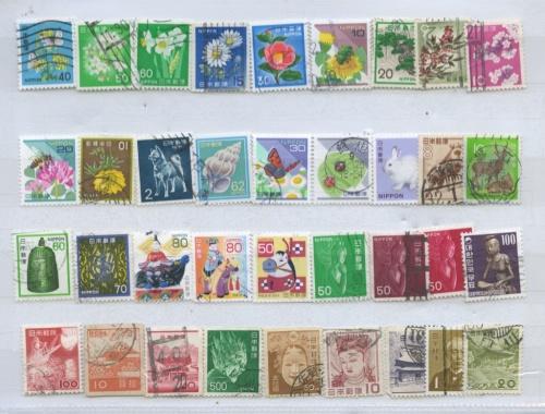 Набор почтовых марок (Япония)
