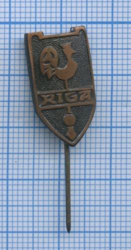 Значок «Riga» (тяжелый) (Латвия)