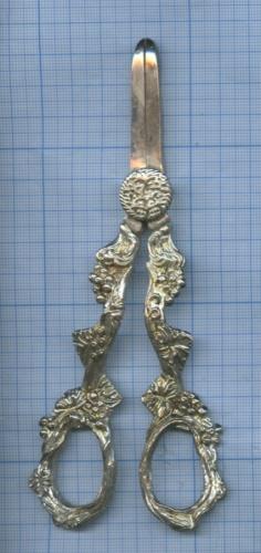 Ножницы «Виноград» (серебрение) (Великобритания)