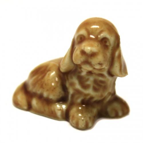 Фигурка «Собака» (клеймо «Made England», 3 см) (Великобритания)