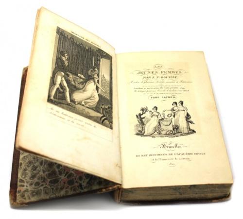 Книга «Les Jeunes Femmes», 419 стр. (гравюры) 1821 года (Франция)