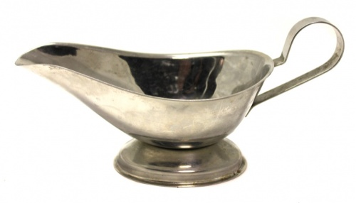 Сливочник-соусник (металл, 6,5×13,5 см)