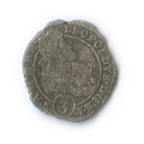 3 крейцера - Леопольд I 1698 года (Австрия)