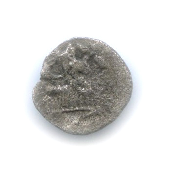 Гемиобол - Мизия, Кизик, 480-450 гг. до н. э., лев/кабан