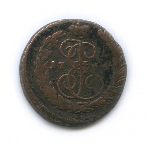 1 копейка 1766 года ММ (Российская Империя)