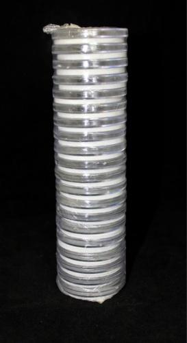 Набор универсальных капсул для монет (диаметр колец: 16, 21, 26, 31, 36 мм, 20 шт.)
