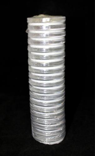 Набор универсальных капсул для монет (диаметр колец: 17, 22, 27, 32, 37 мм, 19 шт.)