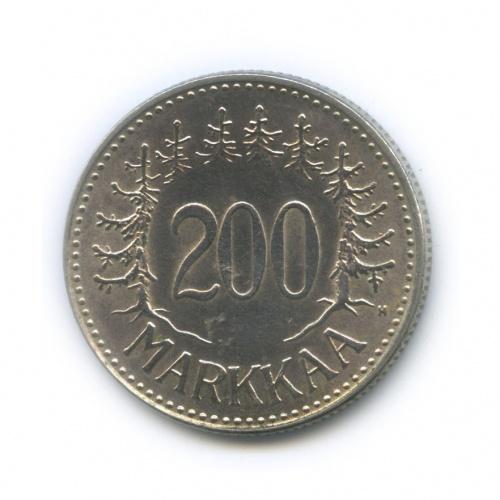 200 марок 1957 года (Финляндия)