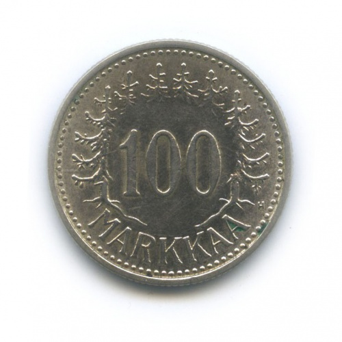 100 марок 1956 года (Финляндия)