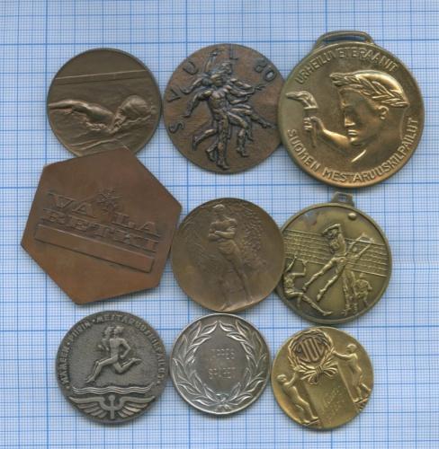Набор настольных медалей (Финляндия)