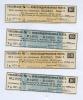 Набор купонов (Российская консолидированная рента) 1923, 924 (Российская Империя)