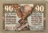 90 геллеров (нотгельд) 1921 года (Австрия)