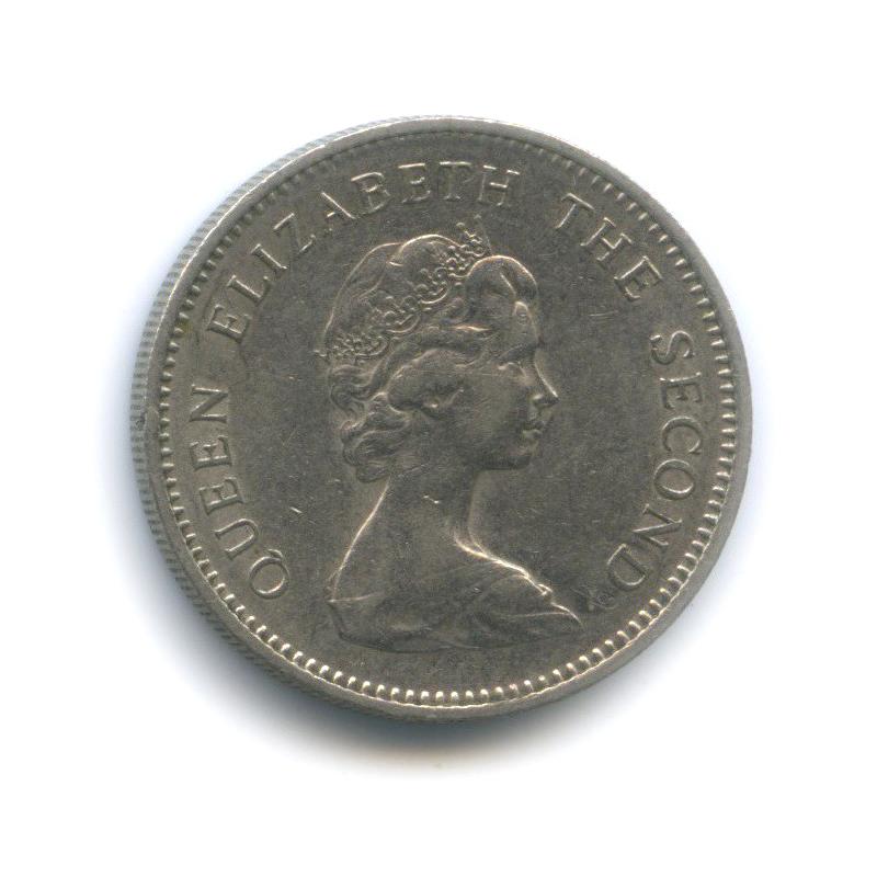 5 новых пенсов, о. Джерси 1968 года