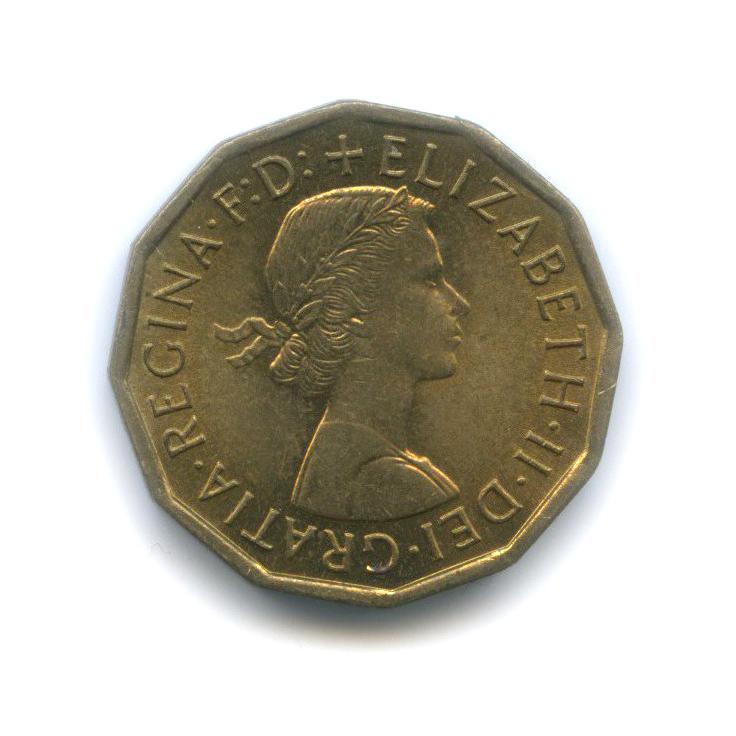 3 пенса 1966 года (Великобритания)