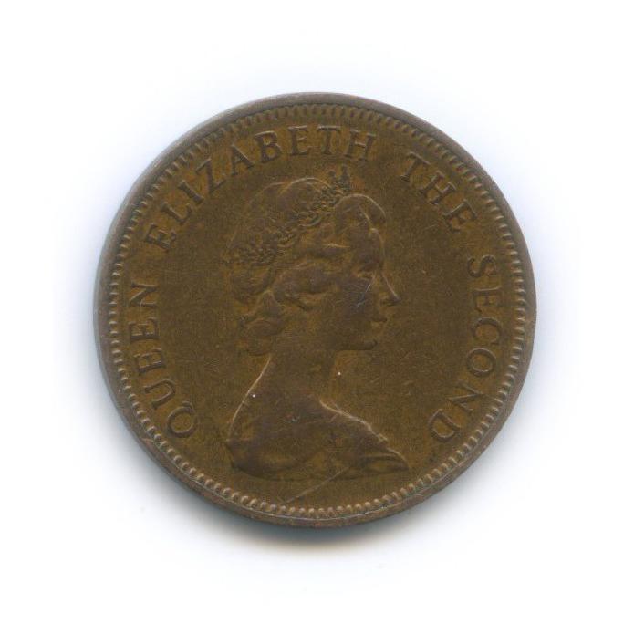 1 новый пенни, о. Джерси 1971 года
